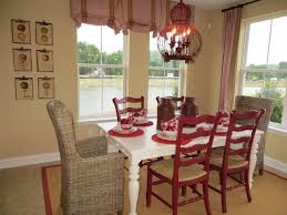 Cottage Style Dining Room Furniture by Red Tan And Cream Casual Cottage Style Eclectic Dining Room