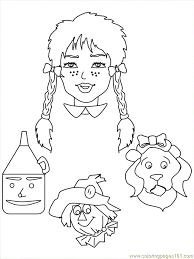 Coloring Pages Wizard Of Oz 515007 Wizard Of Oz Coloring Pages