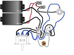 emg active pickup wiring diagram diagram wiring diagrams for diy