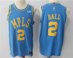 lakers light blue jersey men lakers 2 lonzo ball light blue mpls 2018 nike authentic jersey