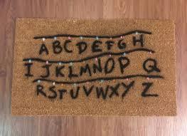 Geek Doormat Welcome Mat Etsy Speak Friend And Enter Doormat Picture