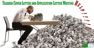 teacher cover letter and application letter writing help