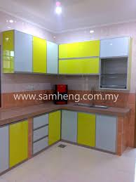 aluminium kitchen cabinet aluminium kitchen cabinet sam heng