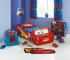 Lighting Mcqueen Bedroom This Lightning Mcqueen Bed From Argos With Front Seat And Storage