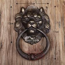 lion door knocker door knocker designer antique brass carved