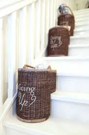 image of stair basket images leather stair step basket leather