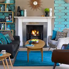inspiring mid century modern home decor 2 turquoise and brown