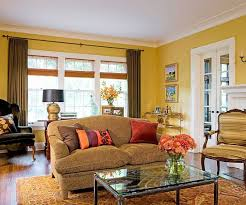 Yellow Brown Curtains Neoteric Yellow Walls What Color Curtains Appealing Decorating