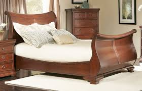 King Platform Bed With Storage Bedroom Enrich Your Home Decor With Queen Sleigh Bed Frame