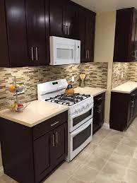 Espresso Kitchen Cabinets Kitchen Kitchen Cabinets With White Liances Espresso Ideas