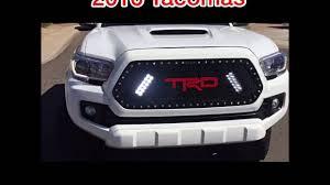 toyota trucks emblem racemesh trucks 2016 toyota tacoma led grille with trd custom