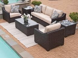 Coronado Patio Furniture by Coronado 4 Pc Aluminum U0026 Woven Resin Wicker Sofa Group Chair King