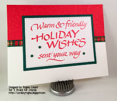 cards by regina i brake for decorating insides of christmas cards