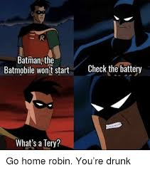 Batman And Robin Memes - 25 best memes about batmobile batmobile memes