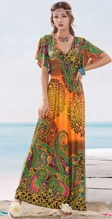 maxi dresses uk 2014 new arrival women summer printing bohemian v neck slim