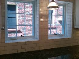 subway tile used as backsplash and window sill kitchens by ghs