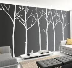 office wall art wall art design cool office wall art white black trees pattern