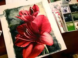 watercolor flower painting lesson create art with me