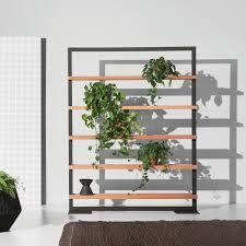scaffale da esterno scaffale moderno in legno in alluminio da giardino objects