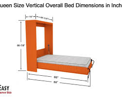 Murphy Bed Mattress Thickness Bed Night Day Daisy Murphy Bed Amazing Murphy Bed Dimensions