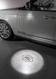 lexus logo projector puddle light range rover lwb vogue se celebrates 6 millionth land rover model