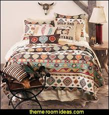 Southwestern Comforters Decorating Theme Bedrooms Maries Manor Southwestern American