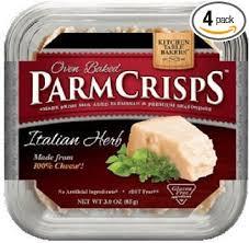 kitchen table bakers parmesan crisps amazon com kitchen table bakers italian herb parmesan crisps pack