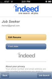 How To Apply Resume For Job by How To Use The Indeed Mobile App Tutorial U2014 Search Indeed Jobs