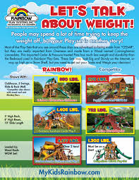 Rainbow Play Systems Check The Weight Rainbow Play Systems Swing Sets And