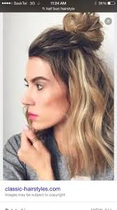 what hairstyles guys hate anyone else hate the hairstyle half up in a bun girlsaskguys