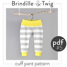 cuff sewing pattern pdf cuff ankles and waist