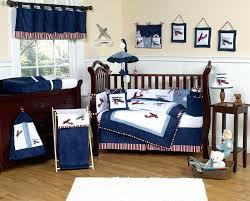 Navy Nursery Bedding Bedding Ideas Vintage Airplane Nursery Bedding Evan 3 Piece