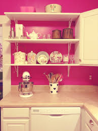 modern pink kitchen teen room fashion ideas for teenage girls white wainscoting deck