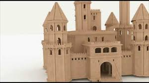 castle plans fairytale castle dollhouse cnc router laser cutting pattern youtube