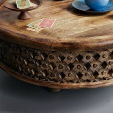Carved Coffee Table Carved Wood Coffee Table Making It Lovely