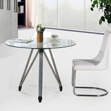 Small Meeting Table Round Glass Meeting Table