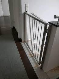 gitter treppe edelstahl tor gartentor gitter treppe kinder treppenschutzgitter
