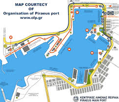 map port map of piraeus greece