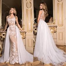 modern wedding dress 2017 lace modern wedding dresses detachable oversirts
