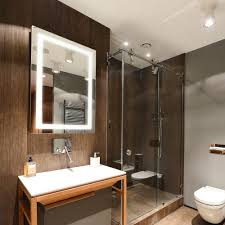 Why Do Bathroom Mirrors Fog Up by Dyconn Swan 24 In W X 32 In H Wall Backlit Vanity Bathroom Led