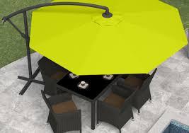 Sunbrella Offset Patio Umbrella Patio U0026 Pergola Offset Patio Umbrella For Exterior Garden Pool