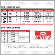 motocross helmet sizes bell moto 3 helmet classic black