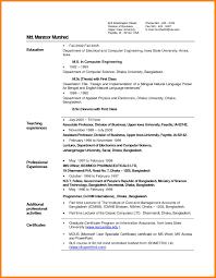 resume sles free download fresher 14 teaching resume for freshers g unitrecors