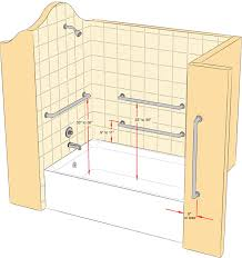 Bathtub Grab Bars Install A Grab Bar