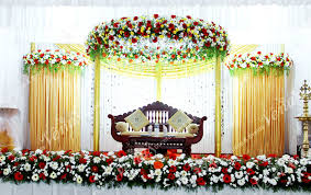 christian wedding planner venu s wedding planners stage decorations kerala india