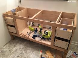 Bathroom Vanity With Drawers by Build A Diy Bathroom Vanity Part 4 Making The Drawers