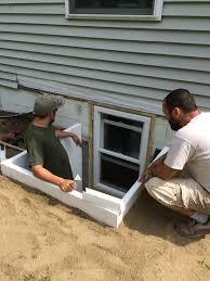 a recent basement egress installation u2013 home egress solutions
