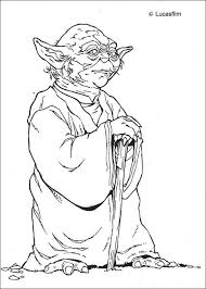 yoda coloring pages hellokids