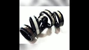 mens tungsten ring antler wedding band engagement rings mens