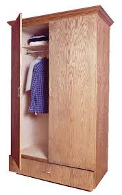 create more storage with this simple wardrobe